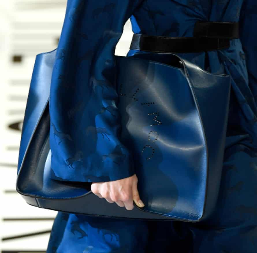 Bag detail from the Stella McCartney show.