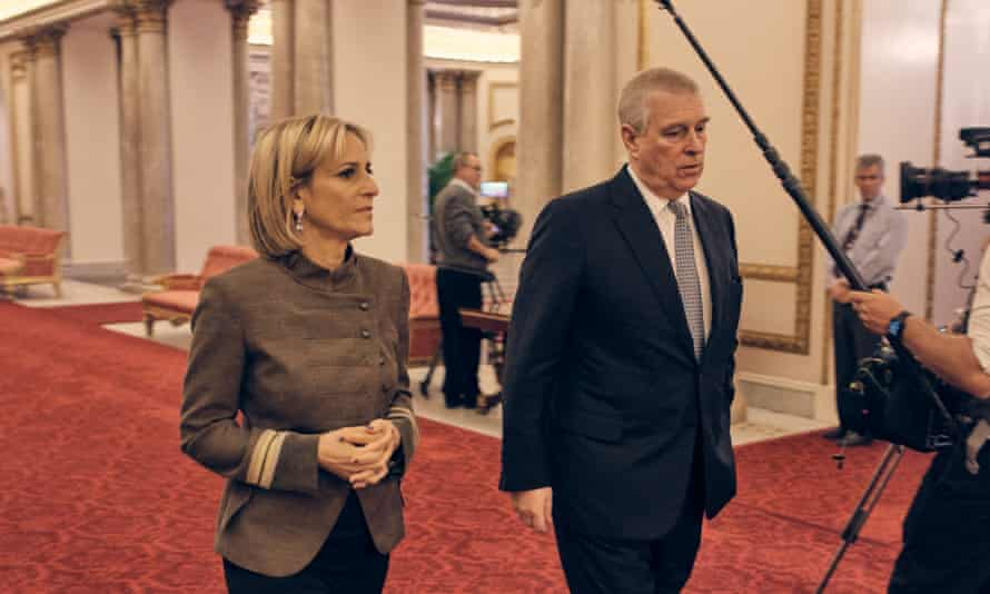 Emily Maitlis and Prince Andrew