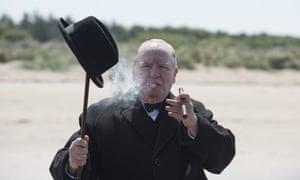 Brian Cox as Winston Churchill in Lionsgate's Churchill.