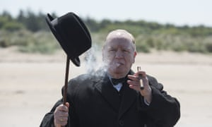 A sentimental/picturesque addition to the cult of Winston … Brian Cox as Churchill.