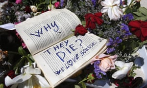 Tributes left at the scene of the terrorist attack in Sousse, Tunisia. Tunisia's president has declared a state of emergency following the beach attack targeting foreign tourists that killed 38 people.