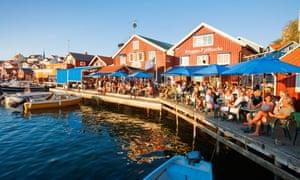 Bryggan Fjällbacka on the water in quaint Fjällbacka