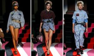 Jourdan Dunn, Kendall Jenner and bumbags at Miu Miu's Cruise collection