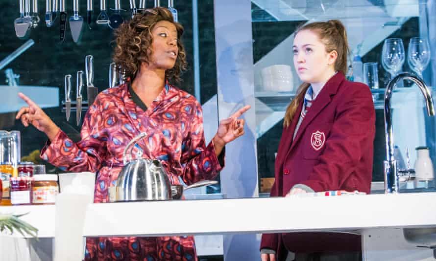 Noma Dumezweni and Imogen Byron in Linda.