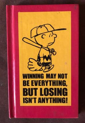 'Everything about it works' … Wayne Gooderham's Charlie Brown book.
