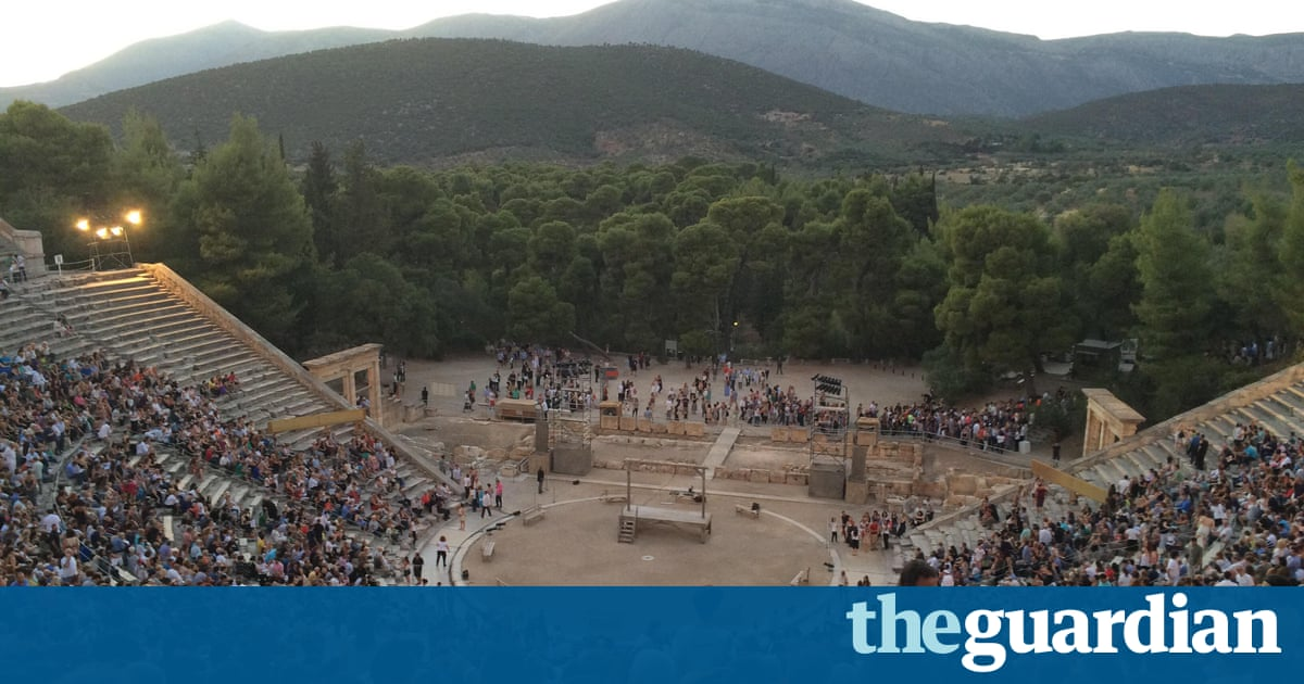 Whisper it – Greek theatre's legendary acoustics are a myth