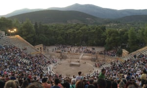 The theatre ​of Epidaurus in 2016