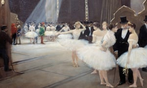 In the Wings at the Opera House by Jean Beraud