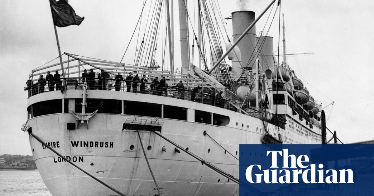 West Indians arrive in Britain on board the Windrush