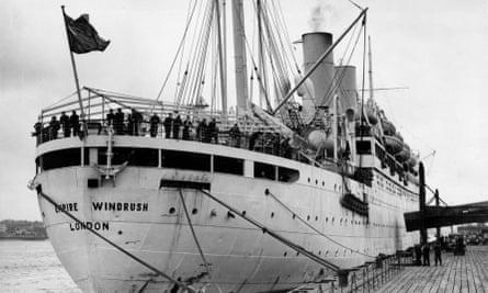 The Empire Windrush, 1954.