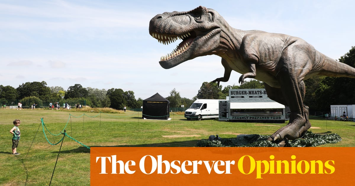 A visit to a dinosaur theme park – and happy, if embarrassing, memories…