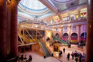 Unique space … Manchester's Royal Exchange theatre.