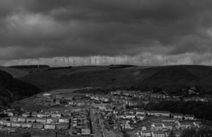 Gilfach Goch, the fabled Welsh coal mining town from How Green is My Valley