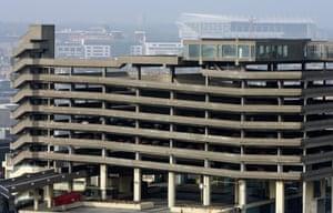 Demolished:  The Trinity Square multi-storey car park