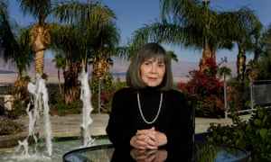 Anne Rice at home in Palm Springs.