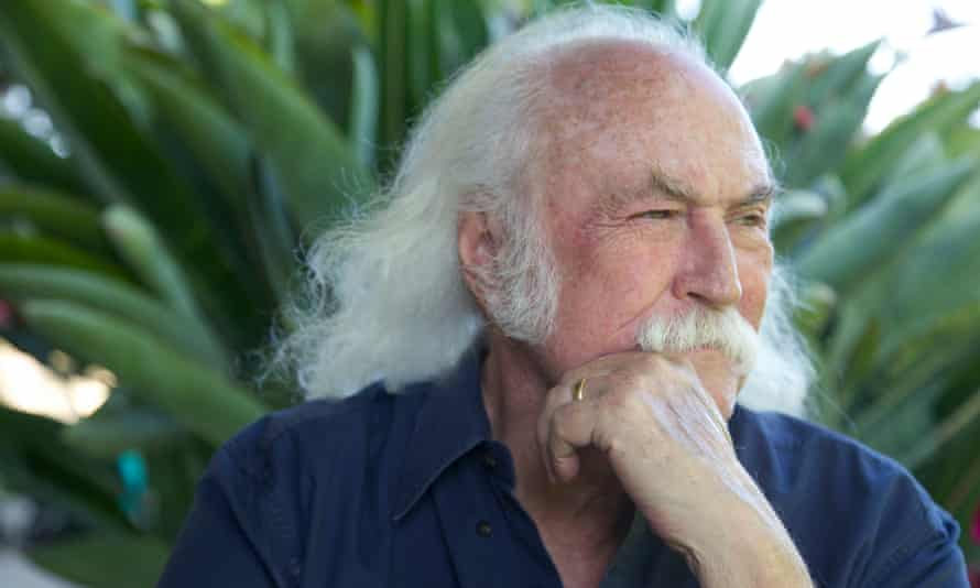 David Crosby: 'America is not a democracy now, it's a corporate-run place'