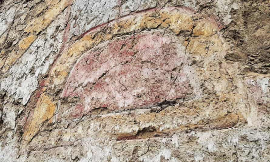 The mural – applied in ochre, yellow, grey and white paint to the wall of the 15m by 5m mud brick structure in the Virú province of Peru's La Libertad region – was discovered last year.