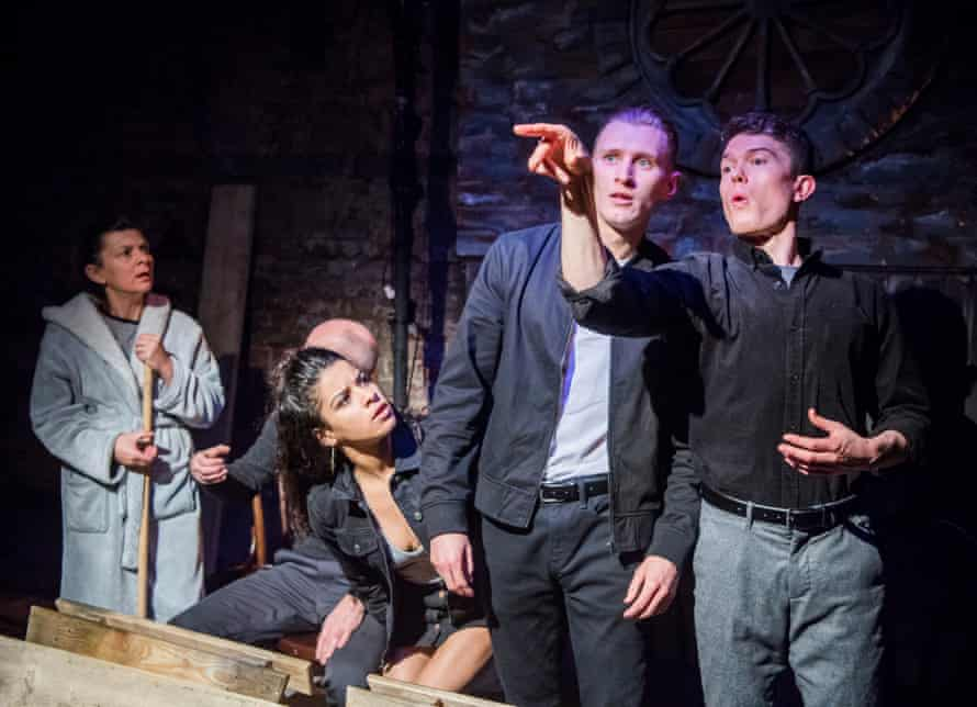 Earthy, sexy, violent … East by Steven Berkoff, revived this year at the King's Head theatre, London.