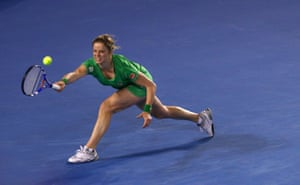 'Aussie' Kim Clijsters has become nearly as popular as Australian players at the tournament.