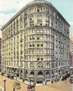 The Piedmont Hotel, which was demolished in 1963.
