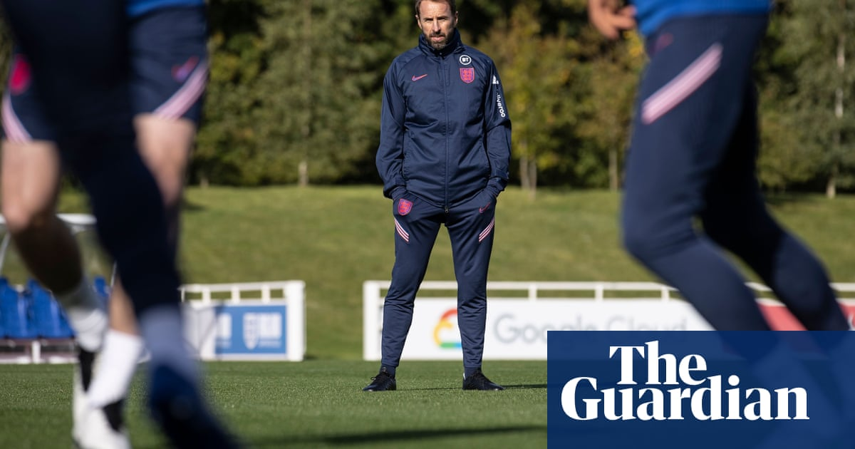 A moral maze: Gareth Southgate tells young England players the party is over