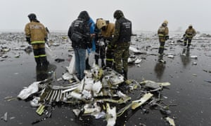 A Flydubai flight crashed at Rostov-On-Don, Russia, in March