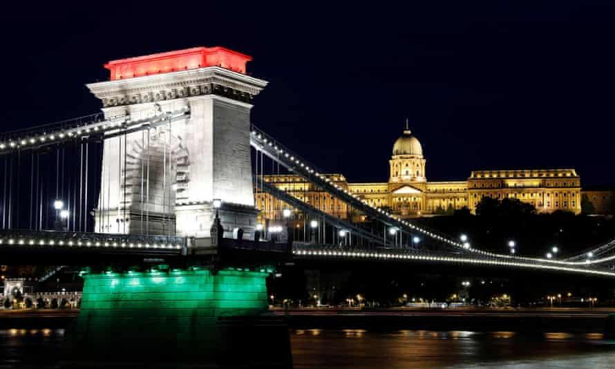 Budapest's Chain Bridge.