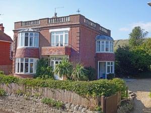 Fantasy : odd roof : Swanage, Dorset