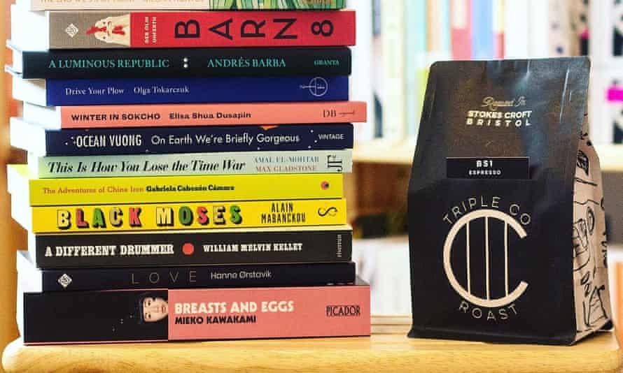 Storysmith Bristol libros y paquete de café