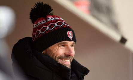 Paul Warne's Rotherham team finished as runners-up to Coventry in League One.
