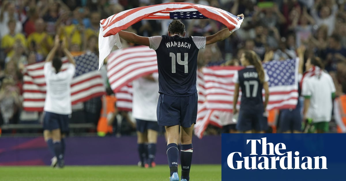 wholesale dealer 970d5 efea6 Abby Wambach's towering legacy only begins with broken ...