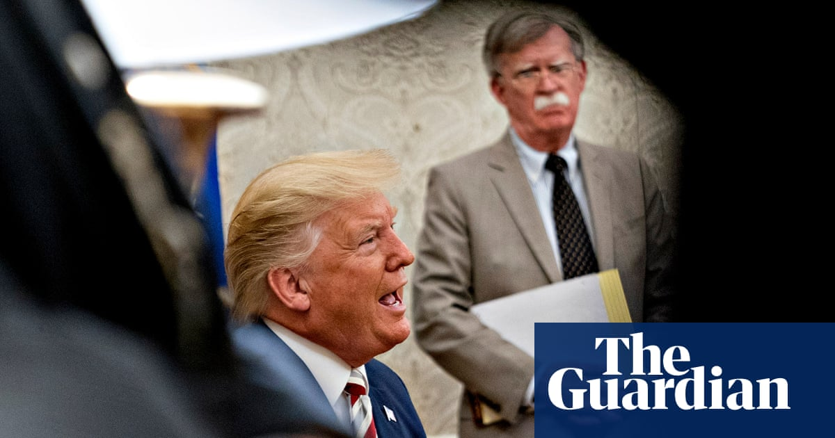 Trump hoped Covid-19 would 'take out' former aide John Bolton, book claims
