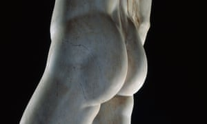Detail of David by Michelangelo.
