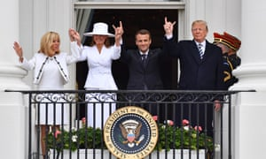 'Perhaps the Macrons understand that to exist in Trump-world they must acquiesce to this trophy wife pageant.'
