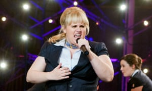 Rebel Wilson as Fat Amy in Pitch Perfect.