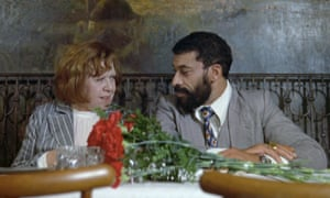 The most purely lovable characters I've seen in a movie … Brigitte Mira as Emmi and El Hedi Ben Salem as Ali in Fear Eats the Soul.