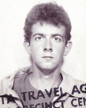Dave Haslam aged 18.
