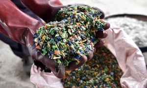 Plastic waste. Plastics can contain phthalates and other harmful chemicals.