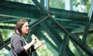 Thoughtworks Angela Ferguson at tech conference Pause Fest 2016 in Melbourne February 2016