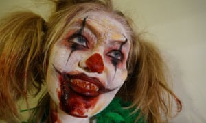 Creepy Clown by Polly Crafter, 27, BA (hons) makeup for media and performance.