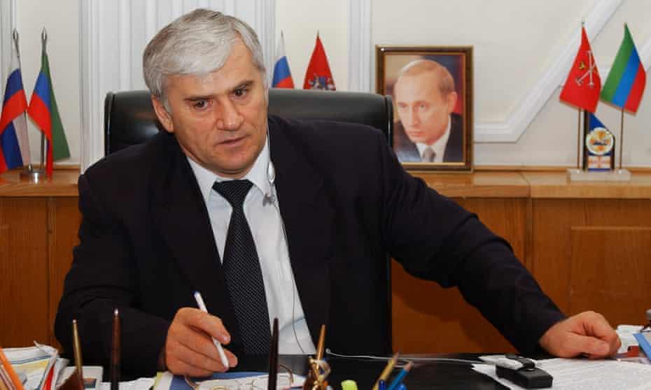 Said Amirov, the don of Dagestan.