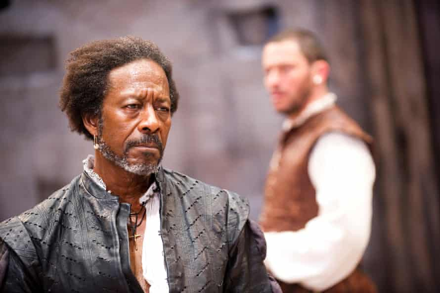 'A sad one' … Clarke Peters and Dominic West in Othello at Sheffield's Crucible in 2011.