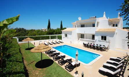 Villa used as base for women's fitness and weight loss camp in Portugal