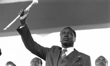 Daniel arap Moi is installed as president in 1978.