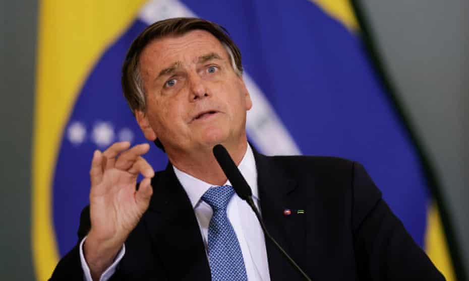 Bolsonaro is a former paratrooper who has presided over what critics call a historic onslaught against the Amazon and its indigenous inhabitants.