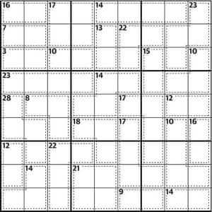 Killer sudoku 646 | Life and style | The Guardian