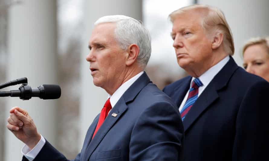 Mike Pence, the vice-president, was one of those officials in line for a pay rise.