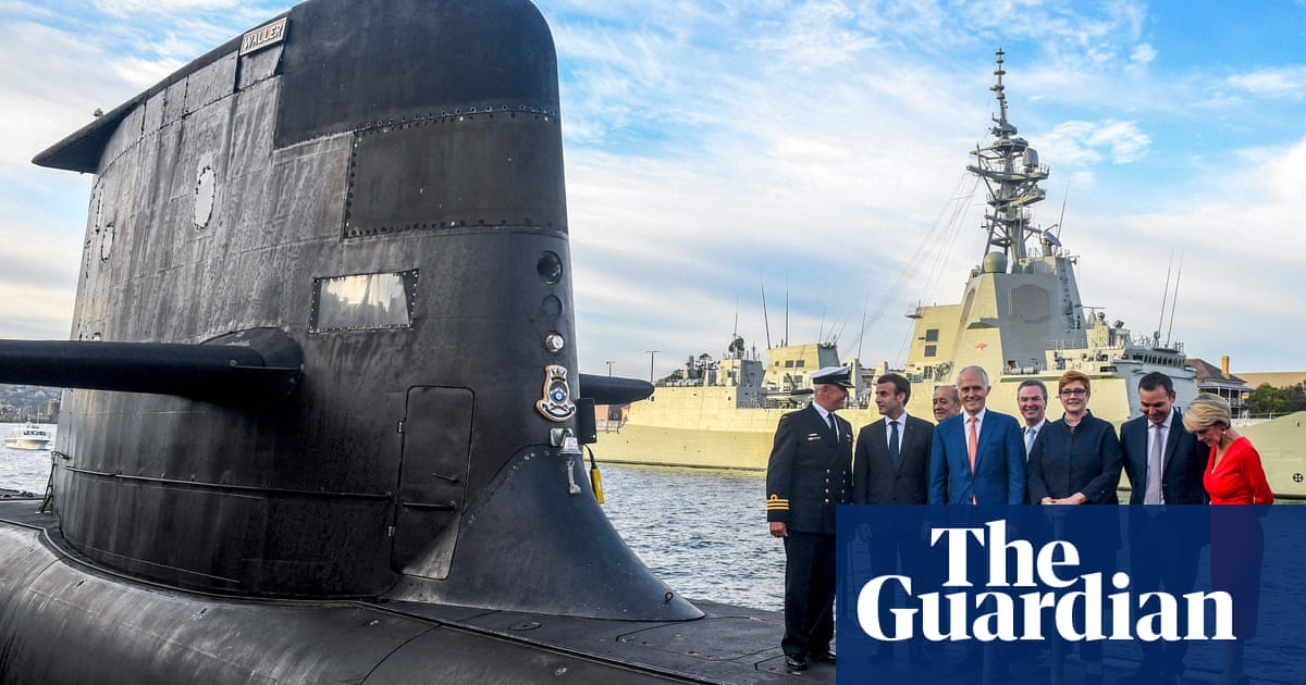 'Stab in the back': French fury as Australia scraps submarine deal