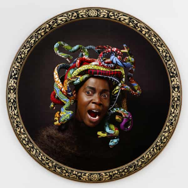 Medusa West by Yinka Shonibare, another of the artworks in the project.