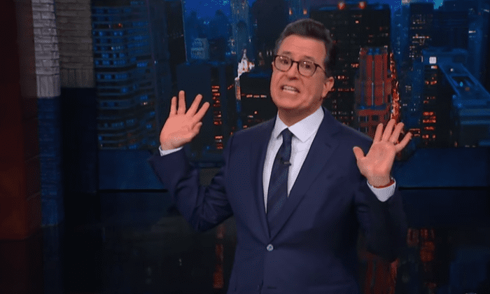 Colbert: Michelle Wolf backlash is like 'accusing the valet of stealing your car'
